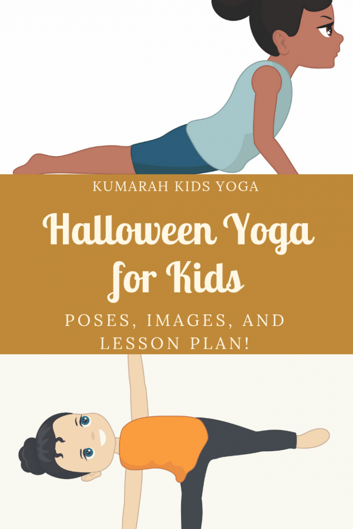 Creative Halloween Yoga Poses for Kids | Kids yoga poses, Yoga for ...