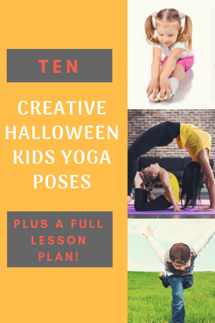 Creative Halloween Yoga Poses for Kids : Kumarah