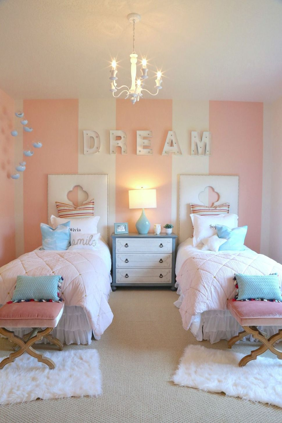 Creative Kids Bedroom Decorating Ideas (With images) | Shared ...