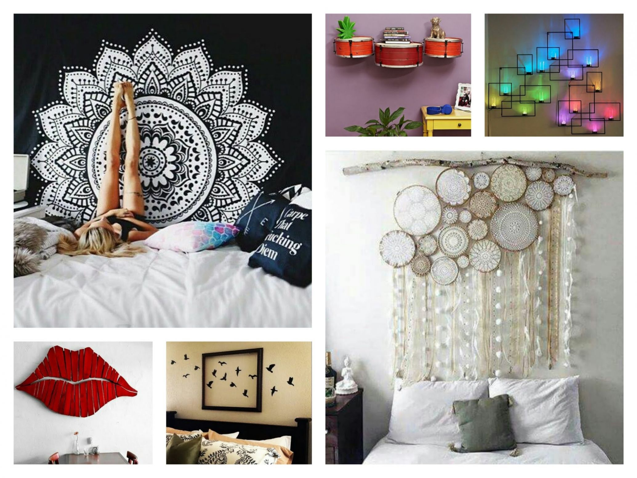 creative wall decor ideas diy room decorations youtube in creative ...