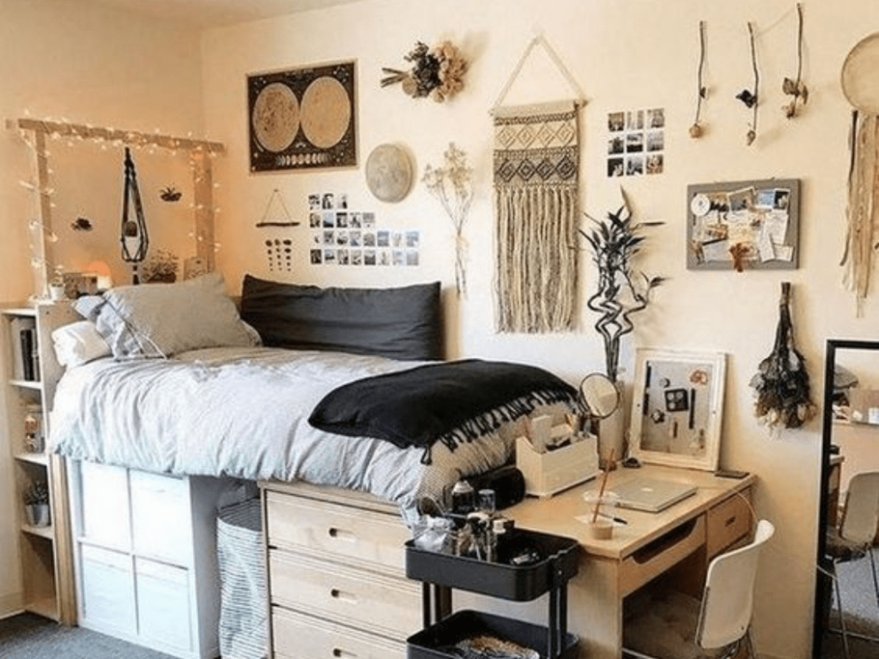 Cute Dorm Room Ideas You And Your Roommate Will Be Obsessed With ...