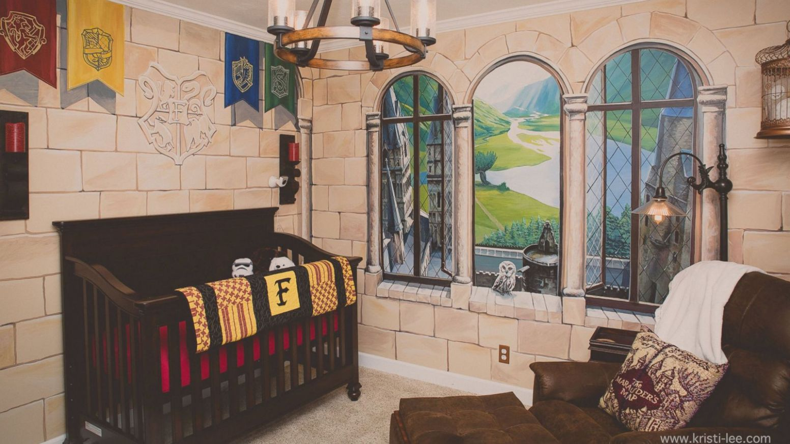 Dad Insists on Magical 11-D Harry Potter-Themed Nursery for Baby Boy