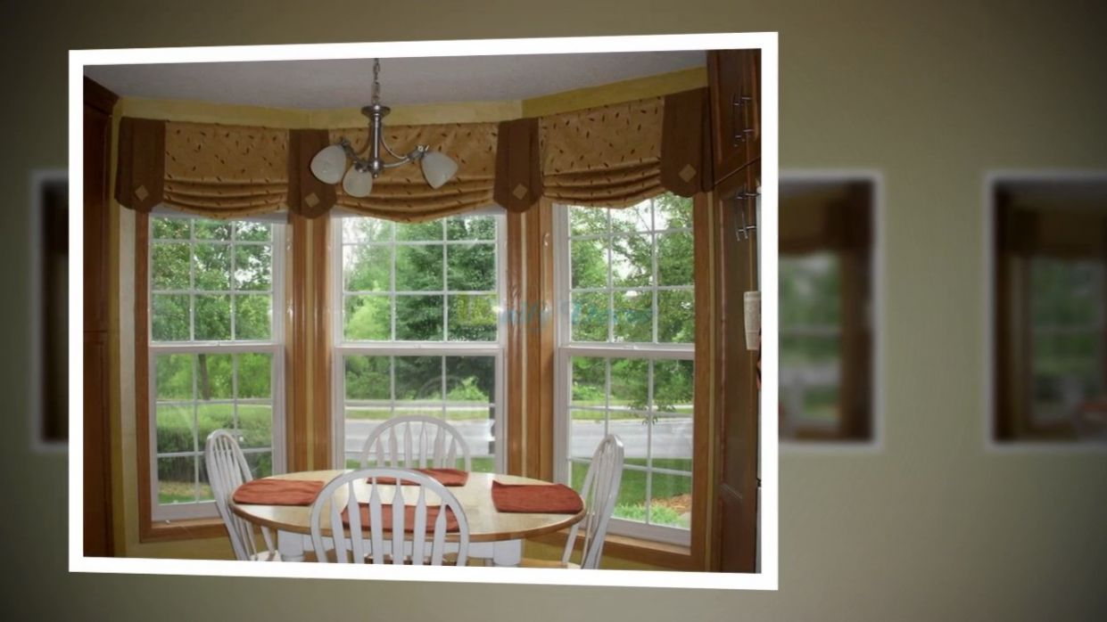 Daily Decor] Living Room Curtain Ideas for Bay Windows - YouTube - window ideas for bay windows