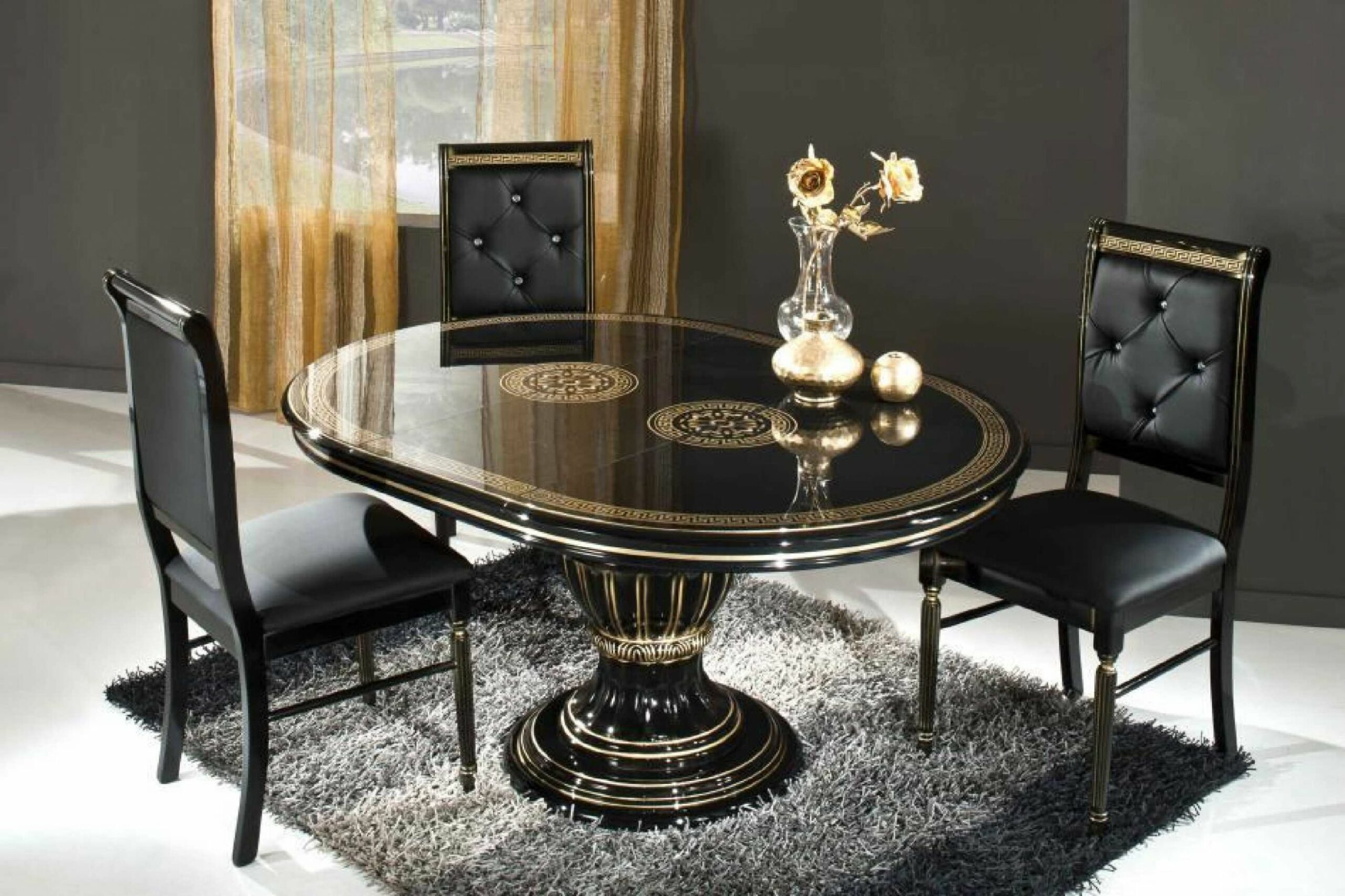 Dark Dining Rooms: The Right Choice – Dining Room Ideas - dining table ideas uk