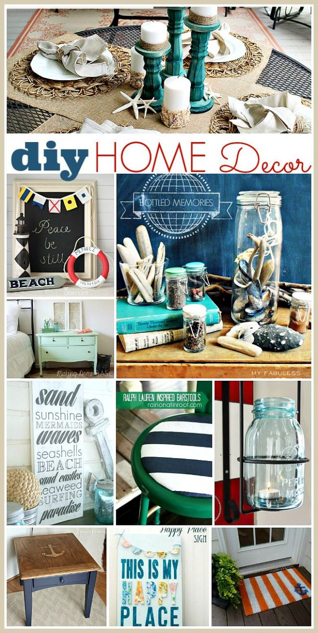 Decor Hacks : DIY Home Decor for the Summer - Decor Object | Your ...