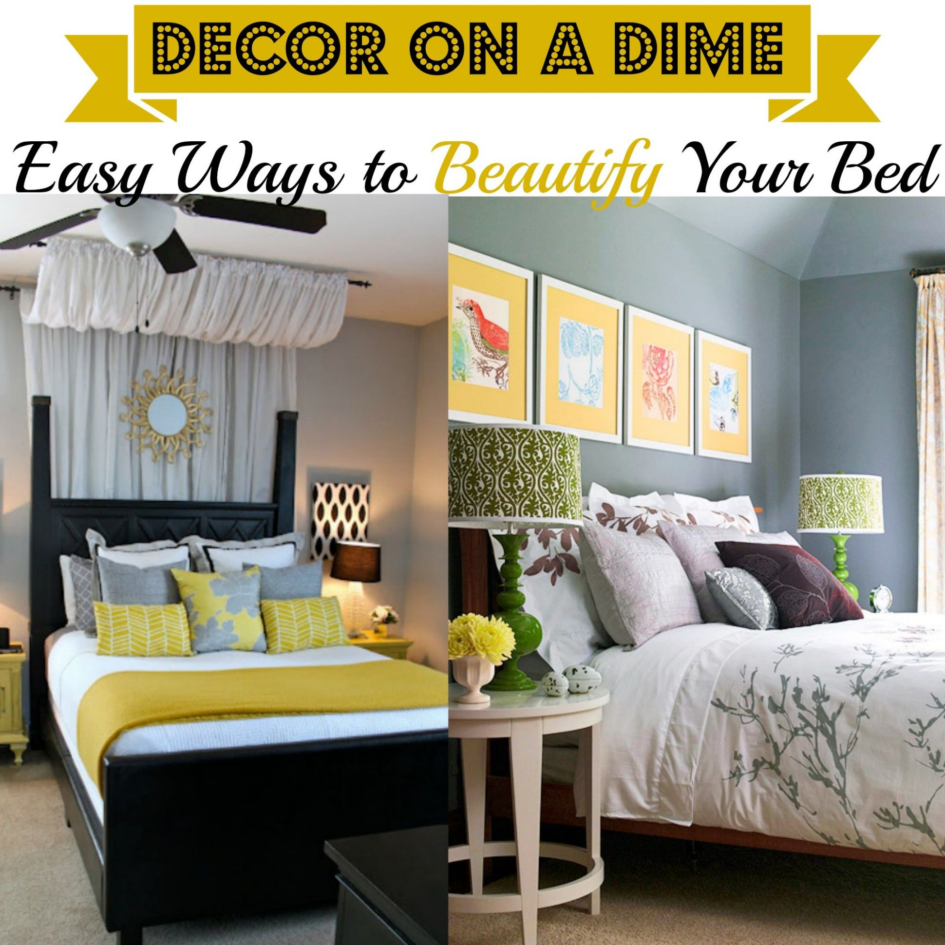 Decor on a Dime: Steps to Create a Zen Bedroom | Looking Fly on a Dime - zen bedroom ideas on a budget