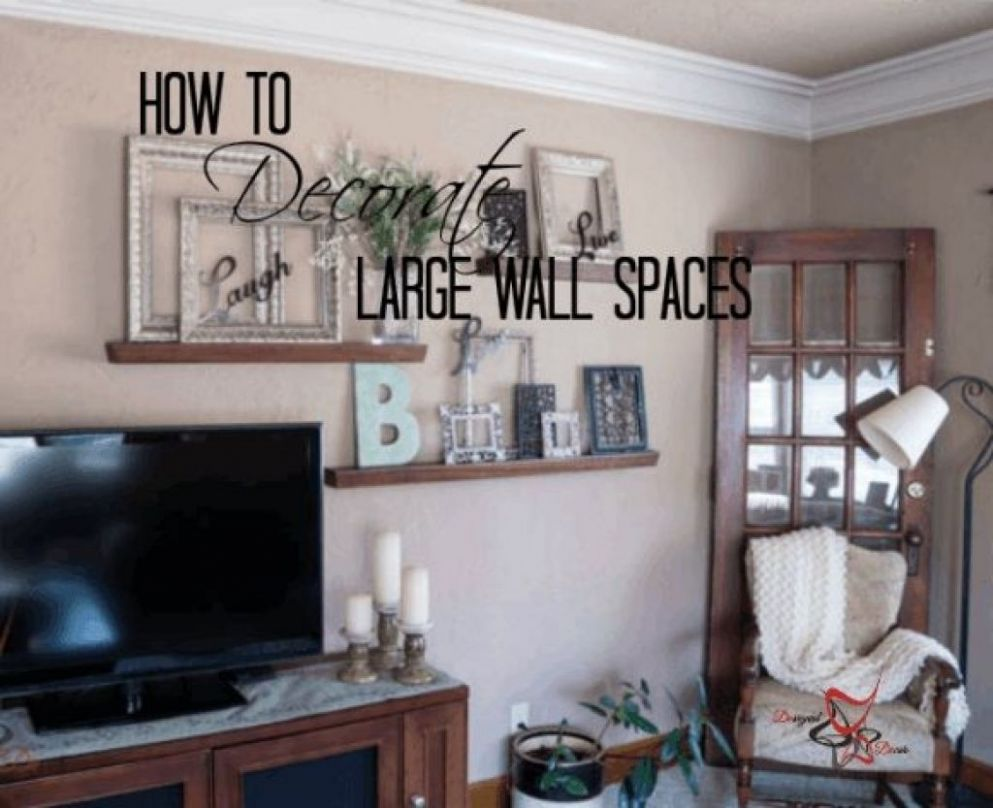 Decorating Ideas For Large Bare Walls intended for The house Best ..