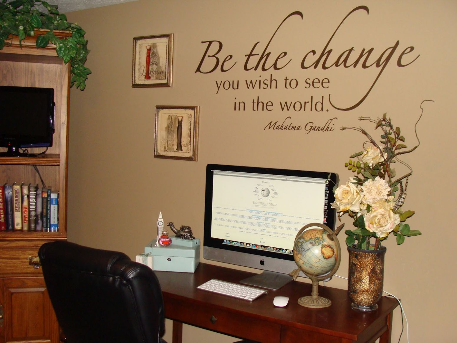 Decorating Office Walls Photo On Fantastic Home Designing ..