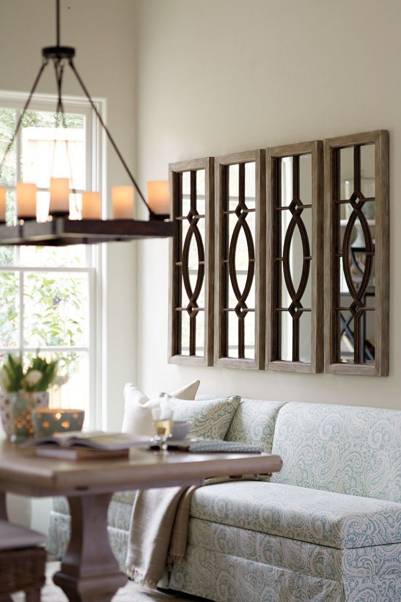 Decorating with Architectural Mirrors | Mirror dining room, Dining ...
