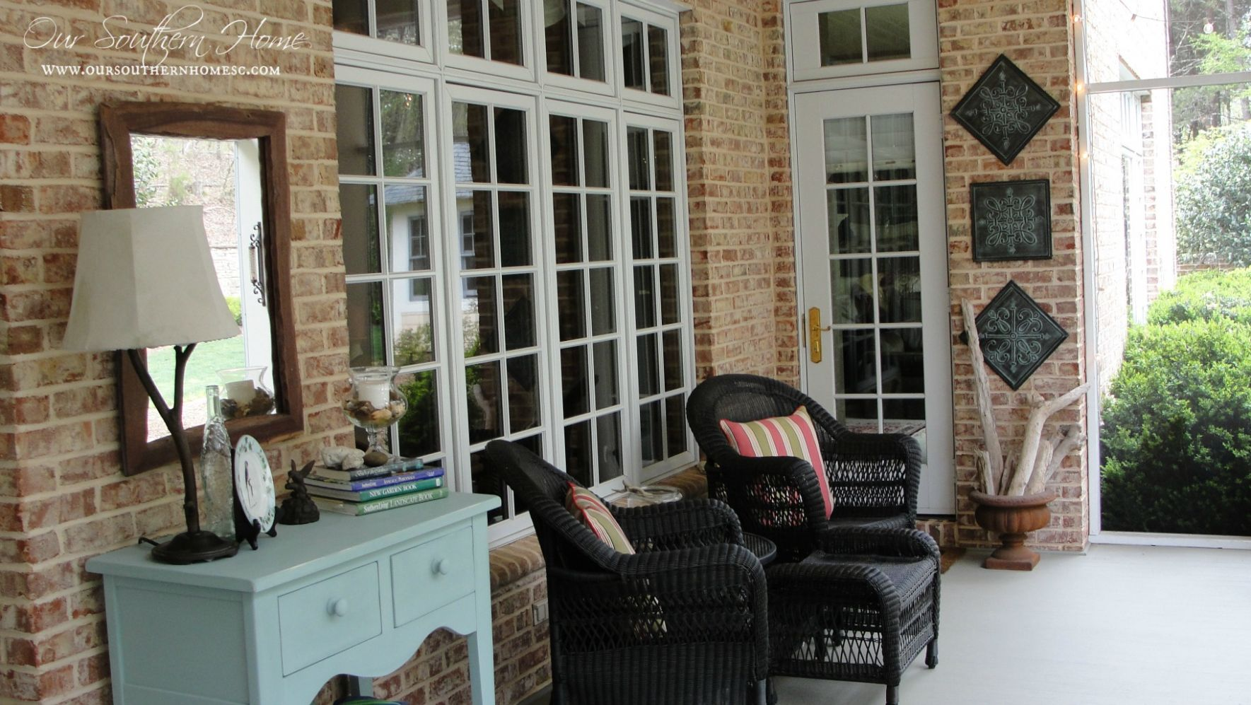Decoration Ideas Exterior Front Porch Cheerful Tabletop Nautical ..