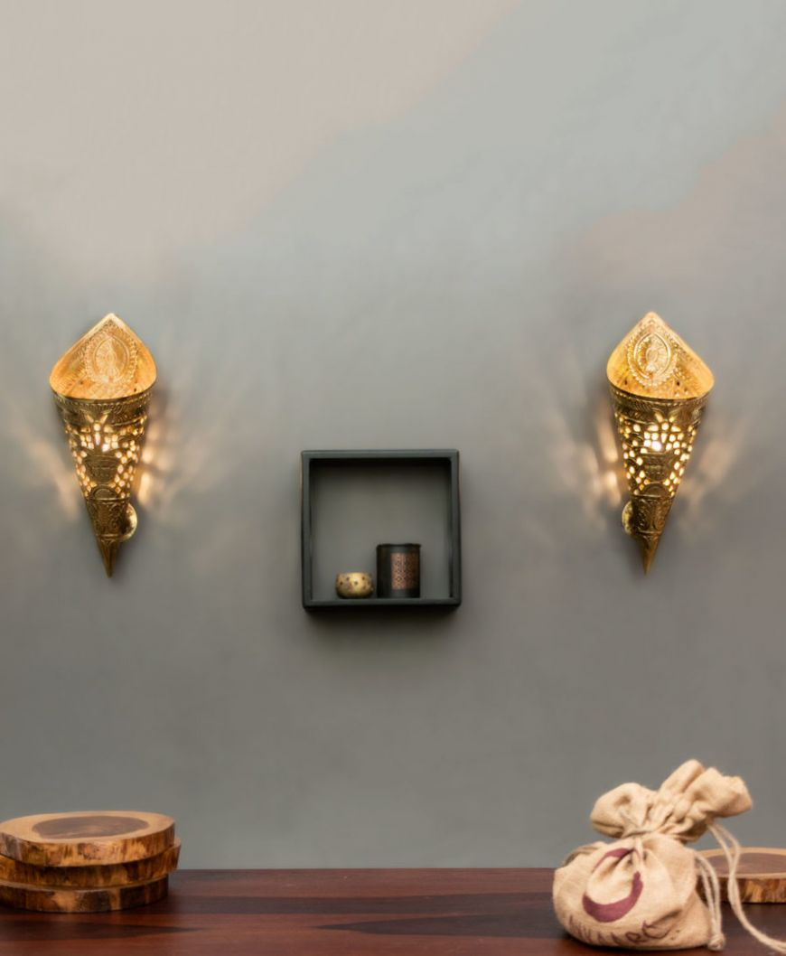 Decorative Home Decor Lamps   Beautiful Brass wall lamps online ..