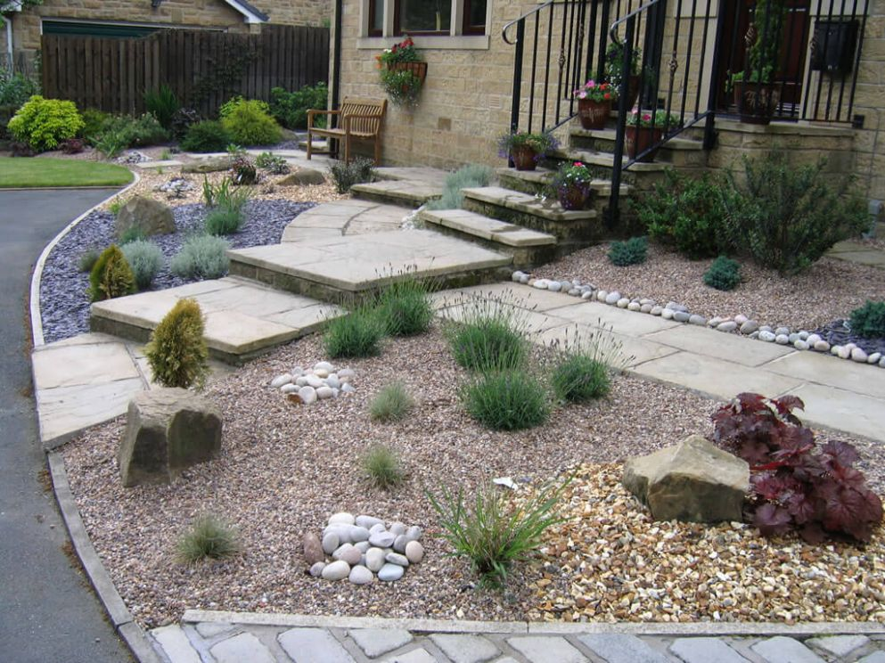 Decorative Ideas for Landscape Gravel Garden Design - The ...