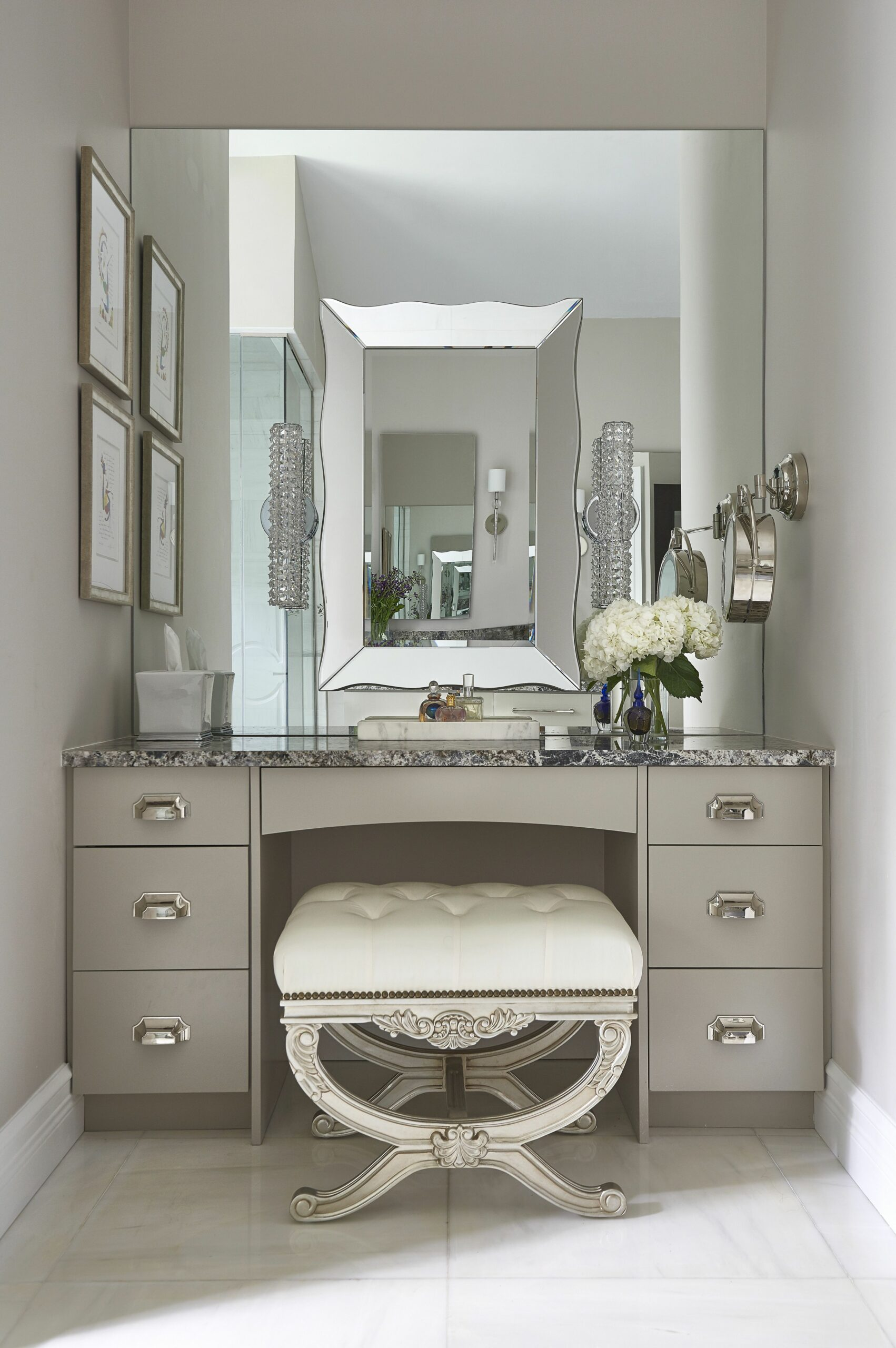 Dering Hall - mirror/lighting (With images) | Dressing table ..
