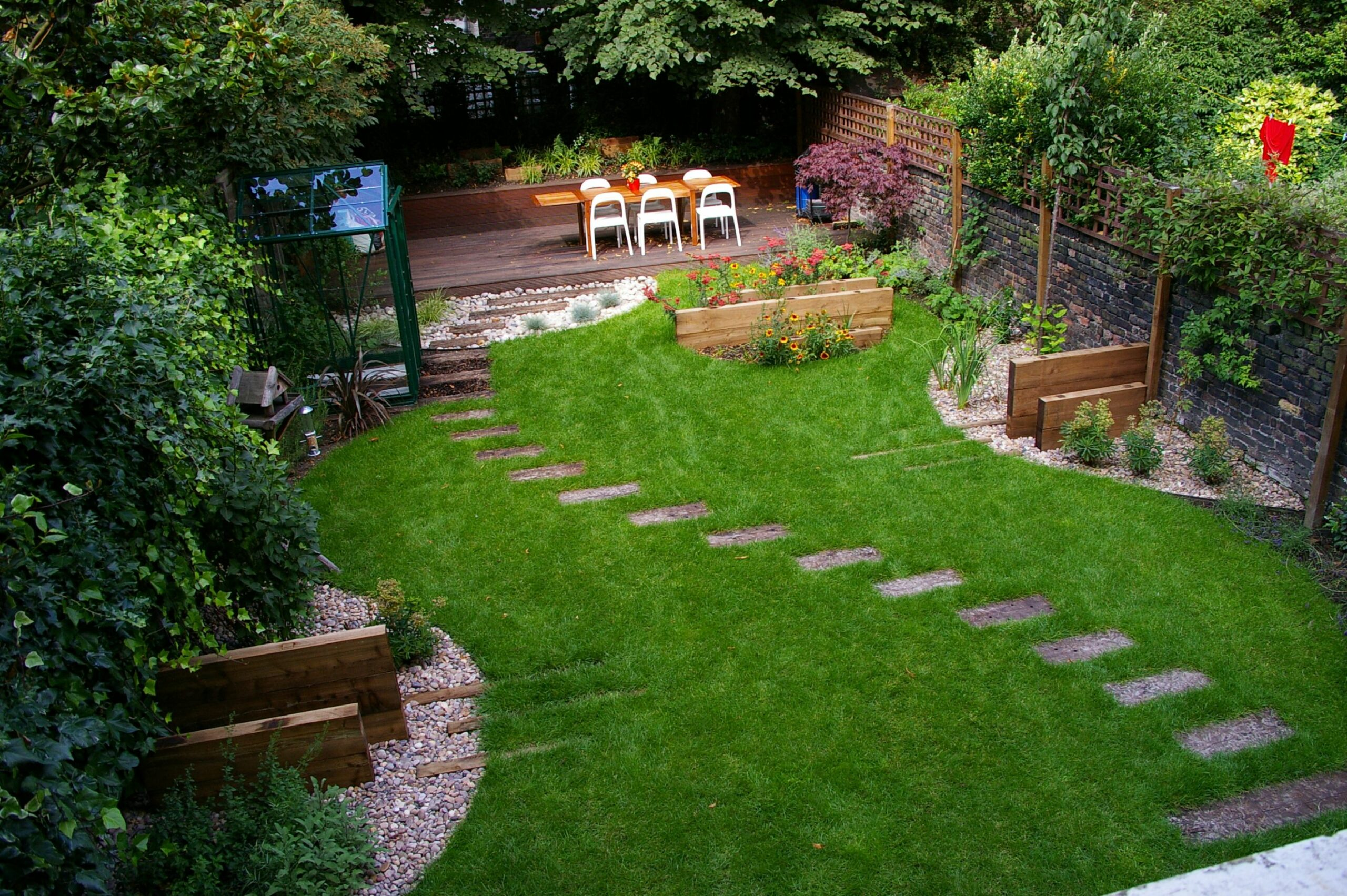 Design Backyard Landscaping Ideas Glamorous Backyard Ideas Hill ..