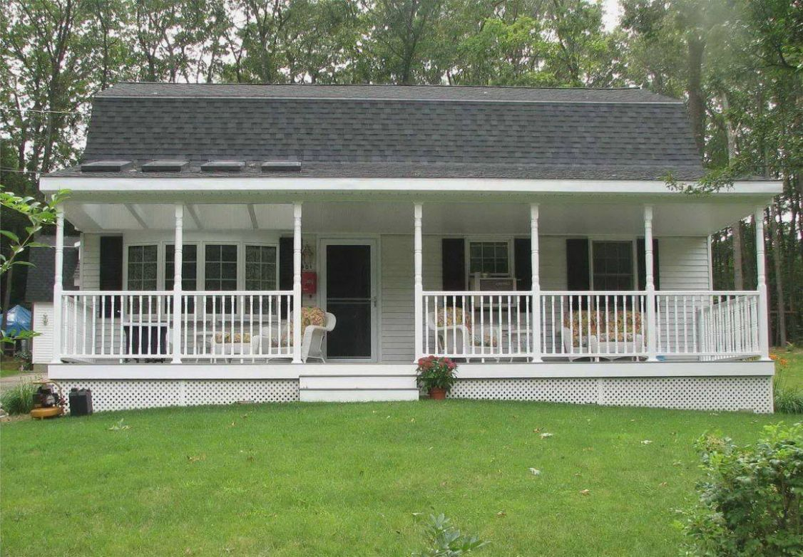 Design Front Porch Designs Ranch Style Homes - House Plans | #9