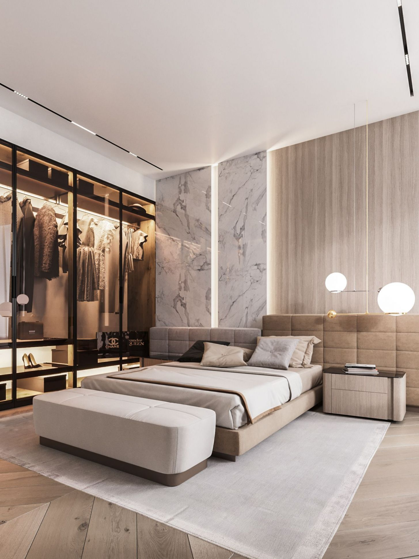 Design project of the apartment 112m12 Moscow on Behance ...