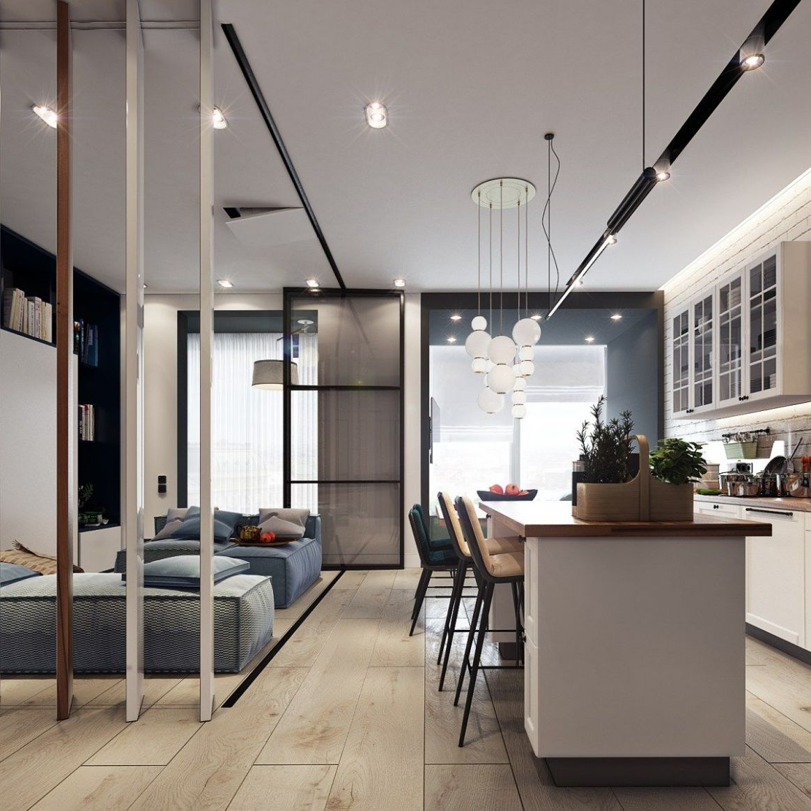 Design Project of the Apartment in Zagreb (12 sq.m.) (With images ...