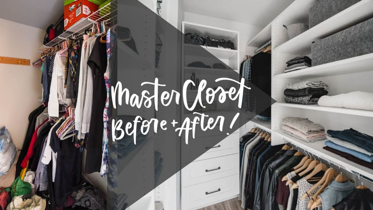Design Tips For A Small Walk-In Closet | Closet Makeover | Organization - walk in closet ideas youtube