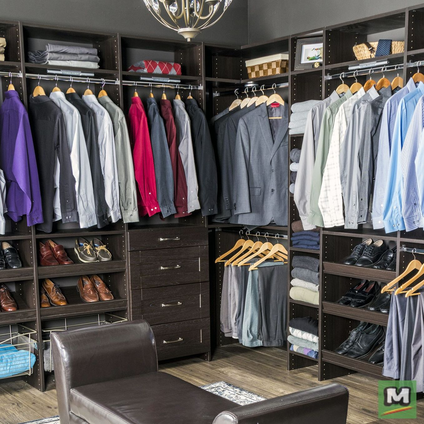 Design your ideal storage space with Dakota™ Closets from Menards ...