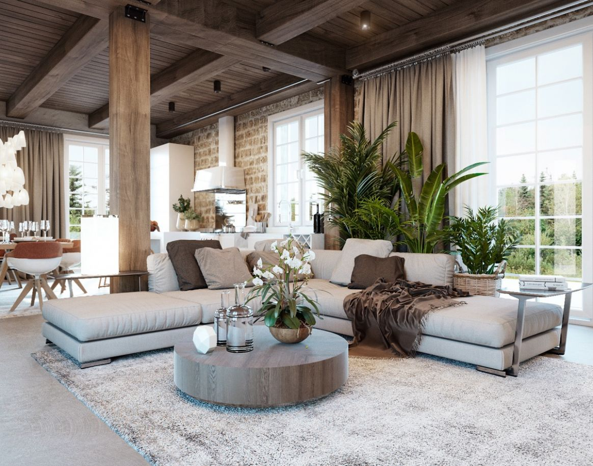 Detailed Guide & Inspiration For Designing A Rustic Living Room - living room ideas modern rustic