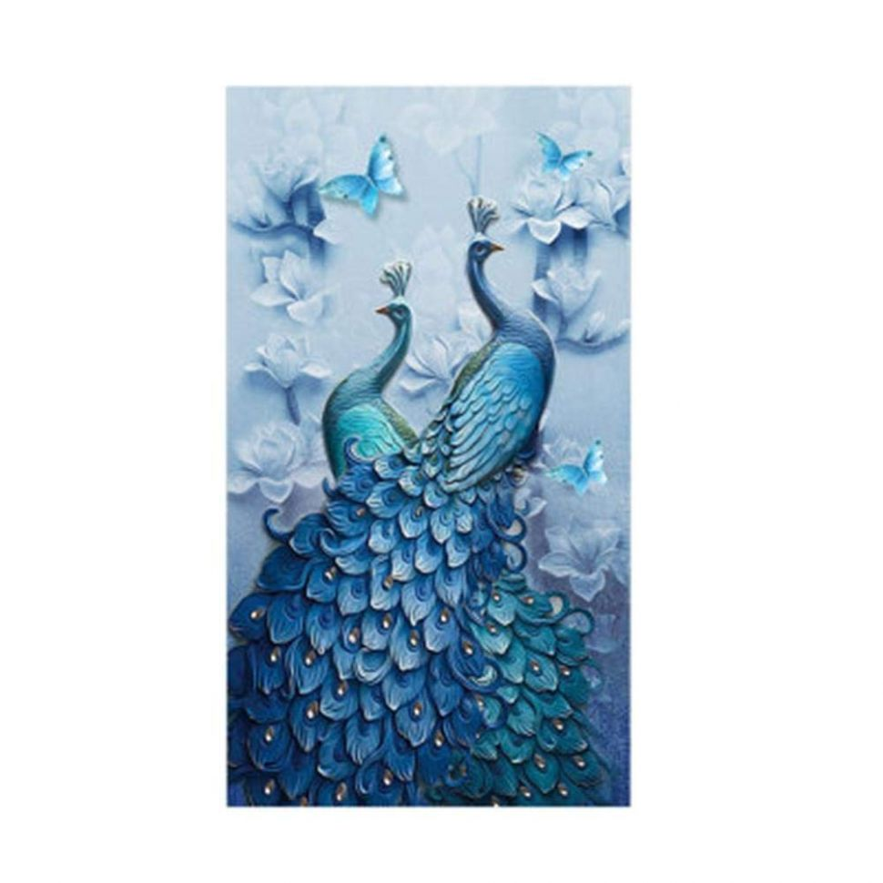 Diamond Painting Full Square 10D DIY Drill Peacock Lucky Bird DP Rhinestone  Embroidery Arts Craft Paint-By-Number Kits cross stitch for Home Decoration  ..