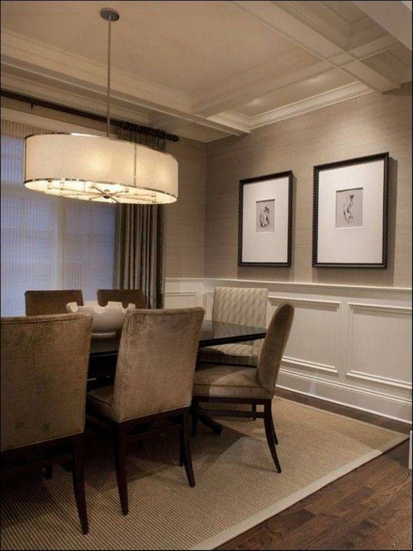 dining room paint ideas with chair rail image Dining Room ..