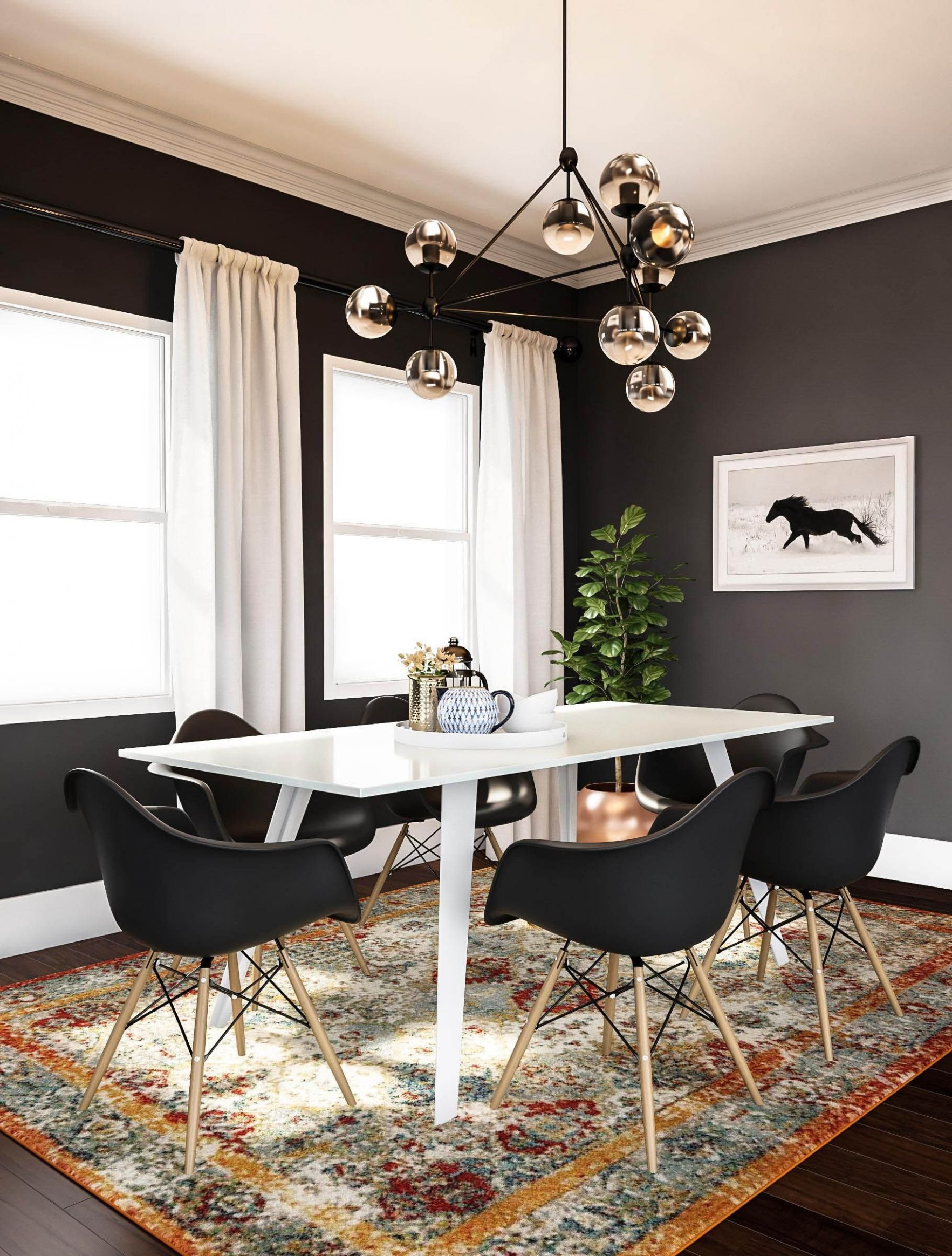 Dining-room Rugs Can Be Practical If You Follow These Rules ..