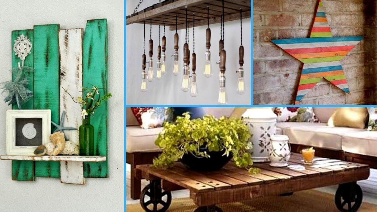 💕DIY Creative ways to Recycle Wooden Pallets 10 | Pallet decor ideas I💕