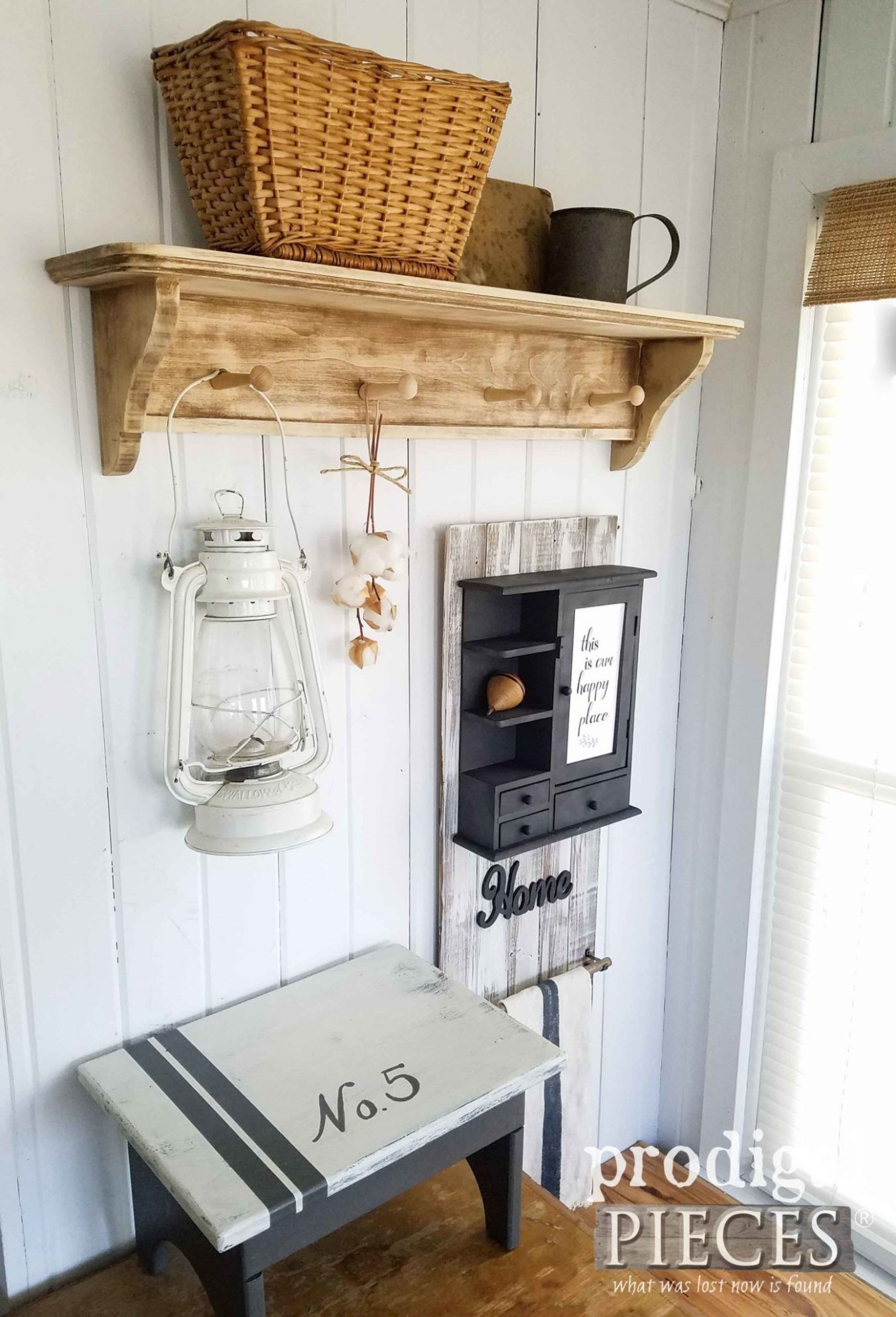 DIY Farmhouse Decor from Thrifted Finds | Funky home decor ..