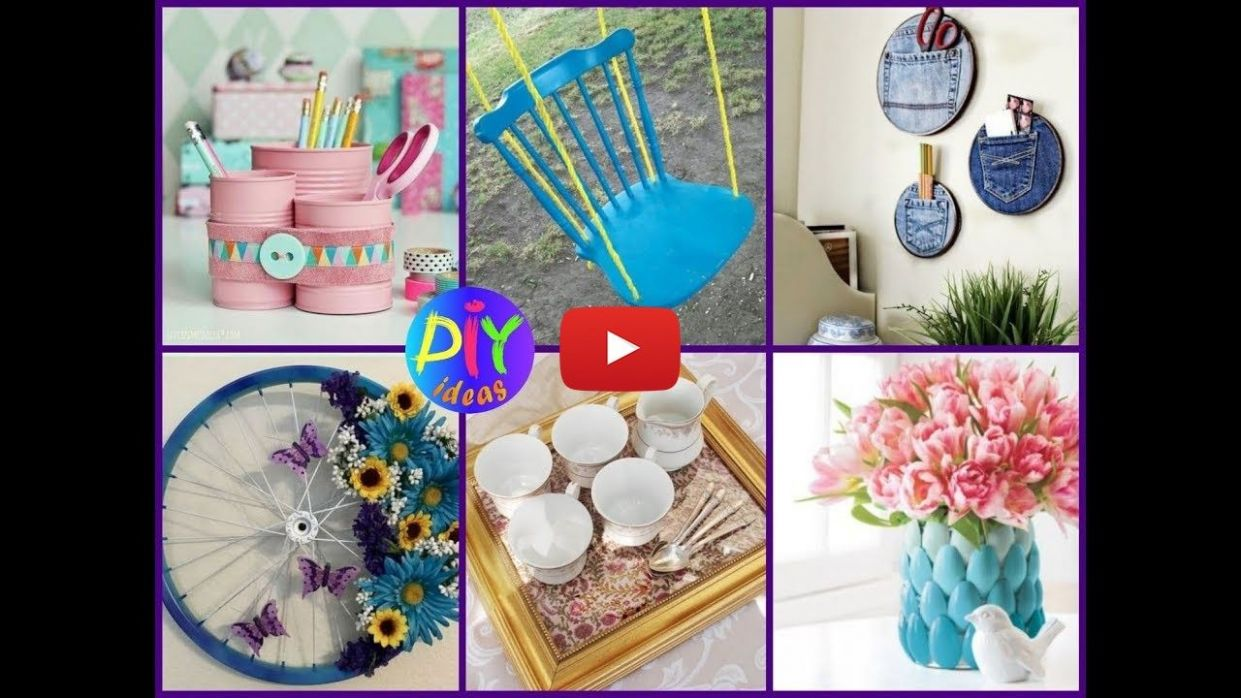 DIY Home Decor: 12 Creative Ways To Reuse Old Household Items ...