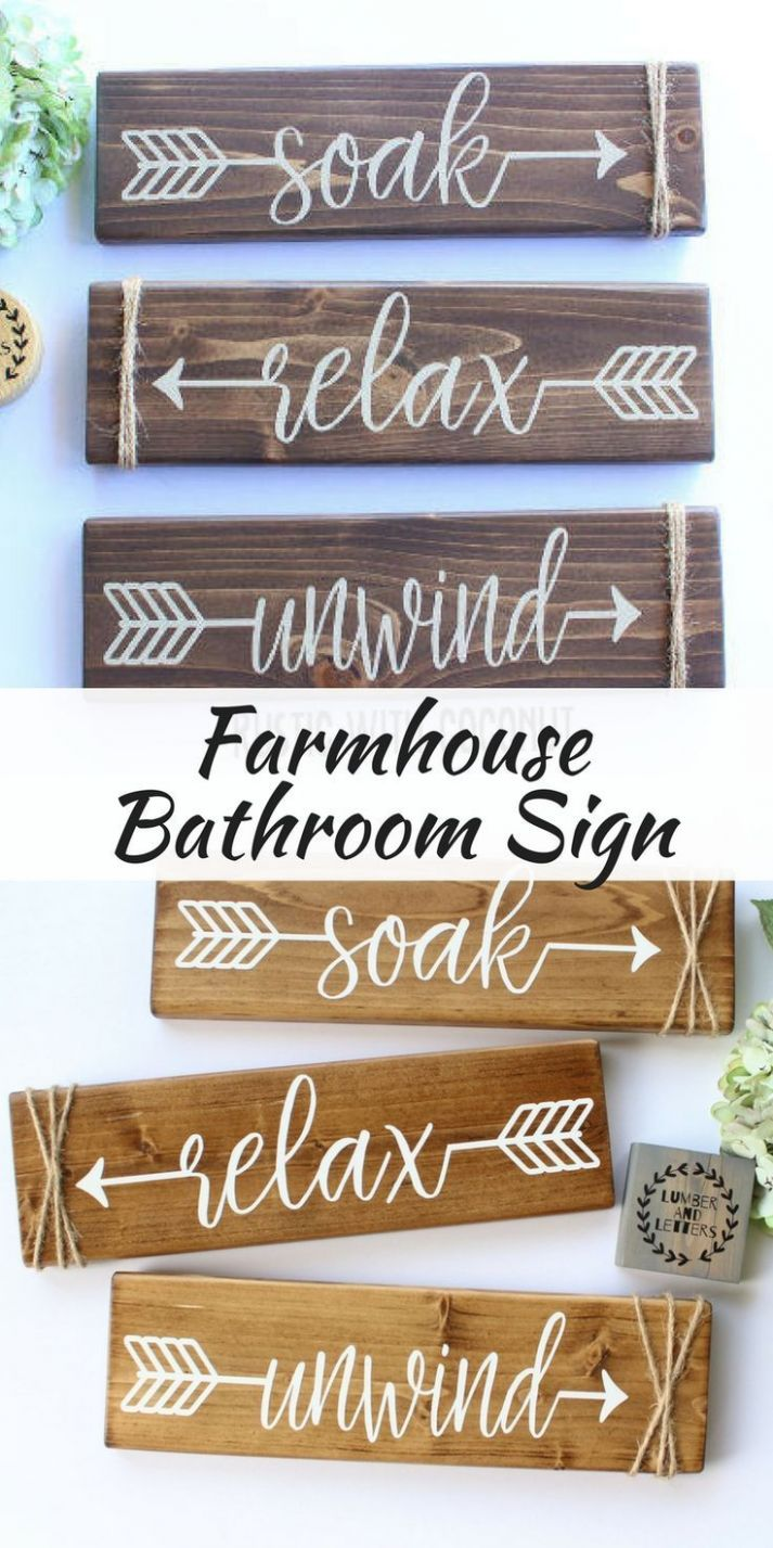 DIY Home Decor : Wash away the stress with these rustic farmhouse ..