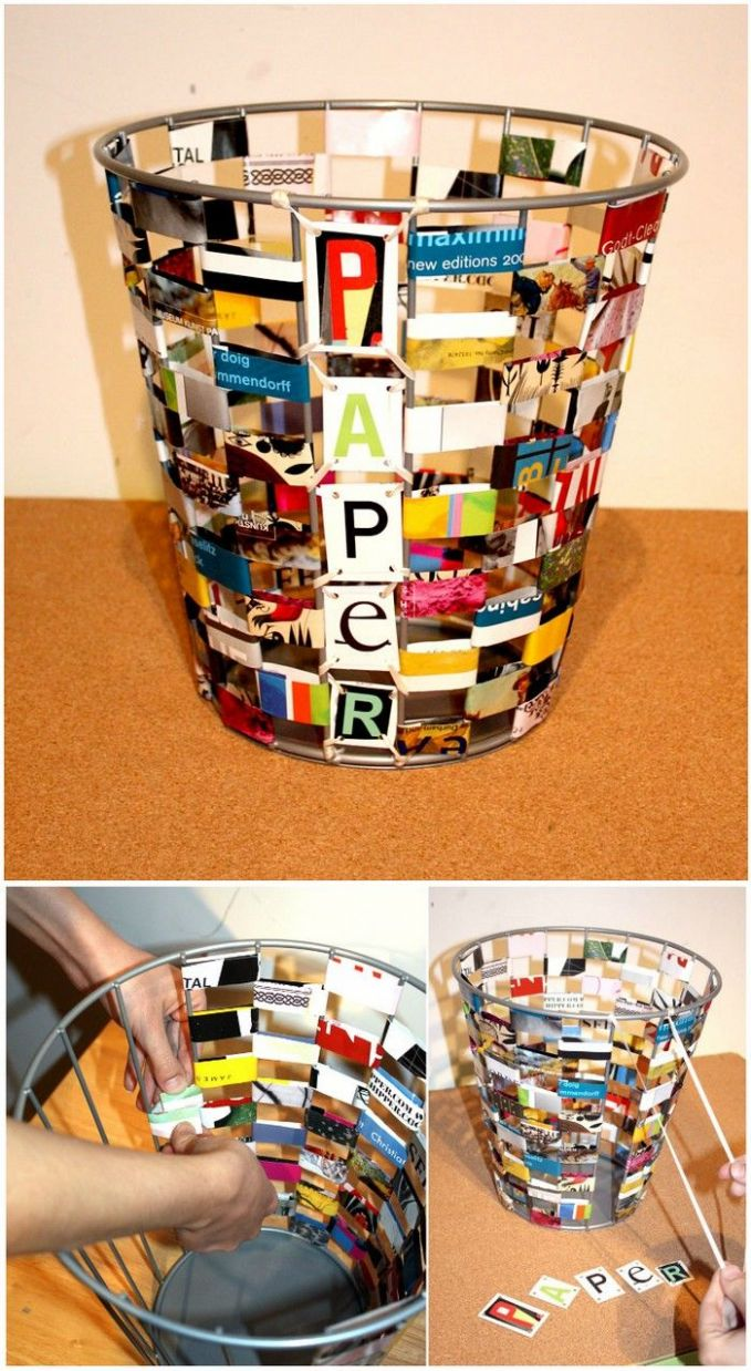 DIY Ideas To Recycle Magazines For Home Décor (With images ...