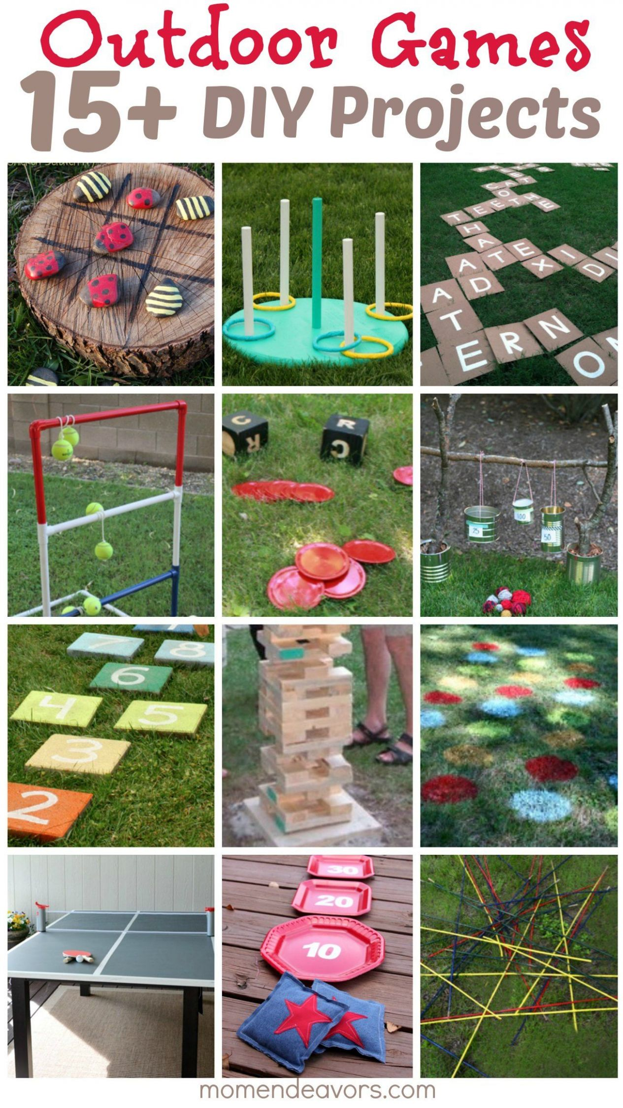 DIY Outdoor Games — 8+ Awesome Project Ideas for Backyard Fun ...