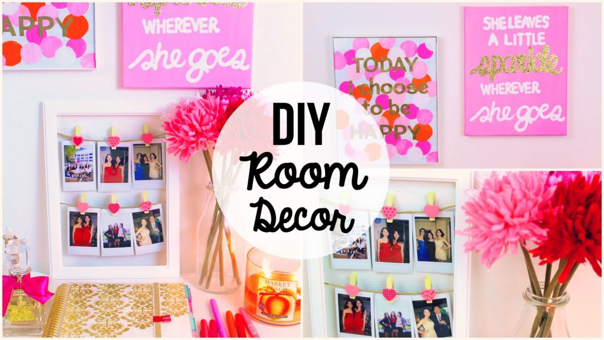 DIY Room Decor 12 ♡ 12 Easy & Simple Wall Art Ideas!