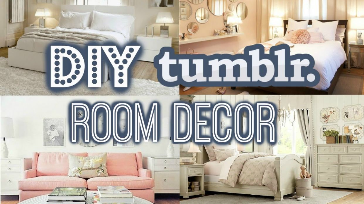 DIY Room Decor For Small Rooms- Tumblr Inspired (Summer 9!)