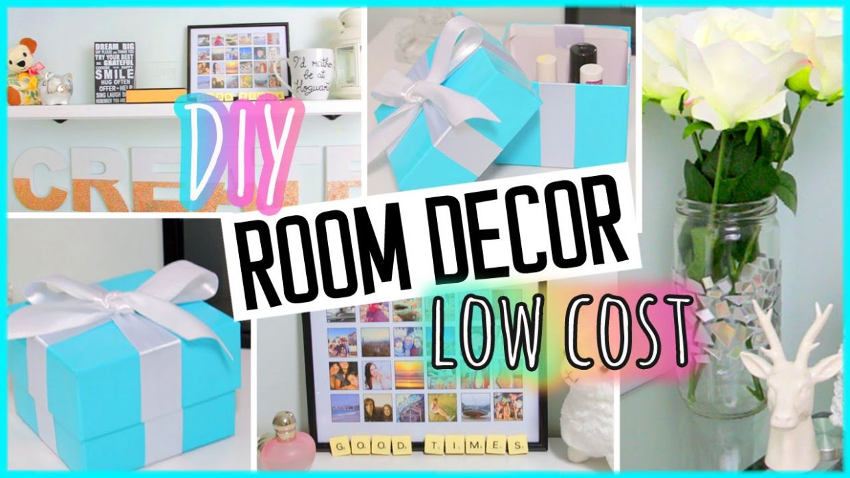 DIY ROOM DECOR! Recycling projects | Low Cost | Cheap & cute ideas! - diy home decor recycled