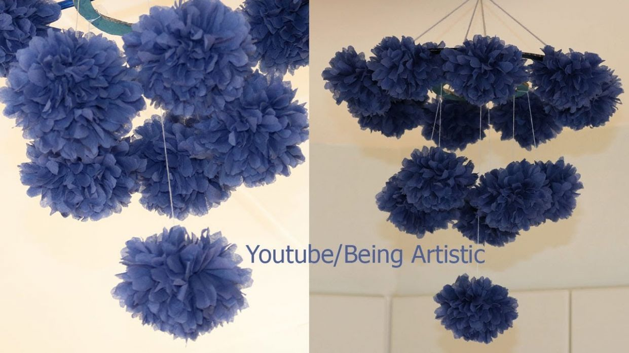 DIY Simple Home Decor - Hanging Flowers - Home Decoration