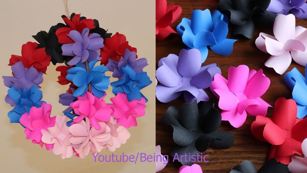 DIY Simple Home Decor - Hanging Flowers - Home Decoration Ideas