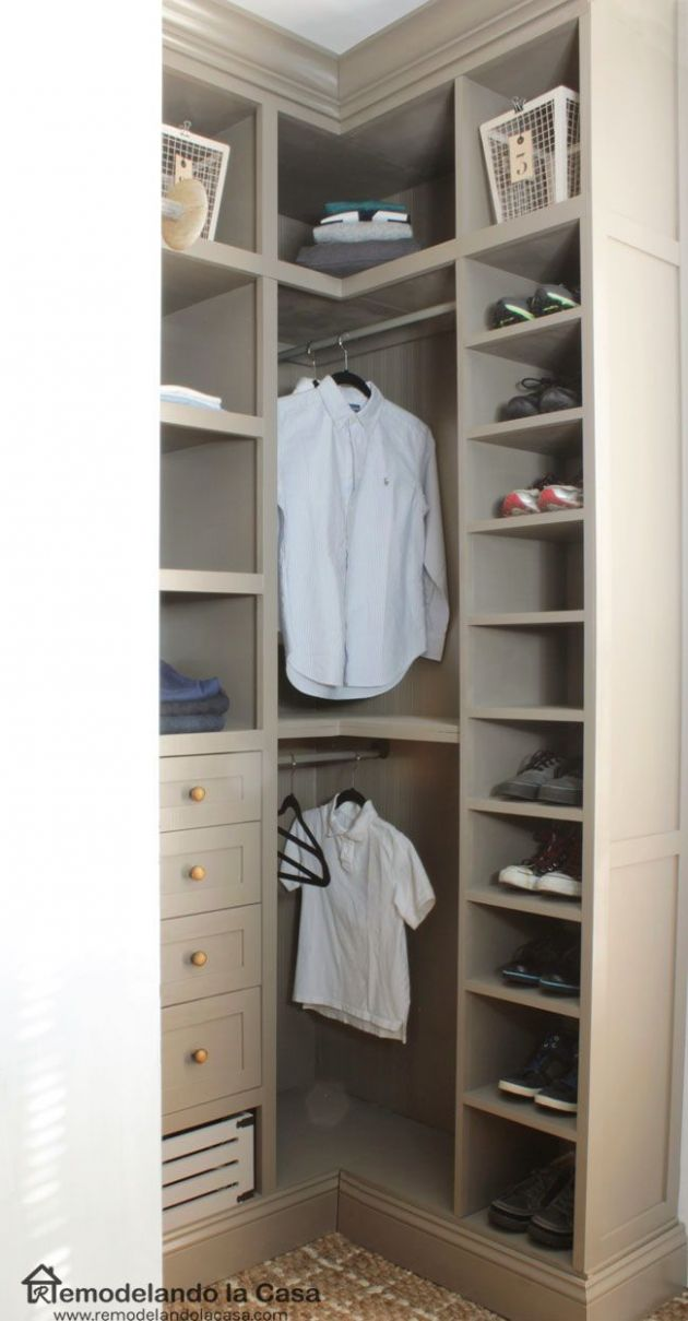 DIY - Small Closet Makeover - The Reveal | Closet remodel, Closet ..