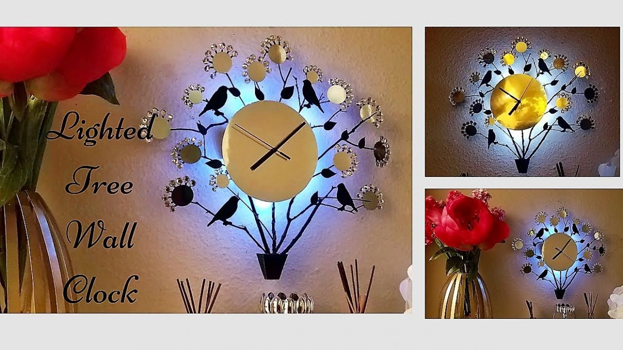 Diy Wall Clock Using Real Twigs! Easy and Inexpensive Wall Decorating idea! - wall decor ideas with clock