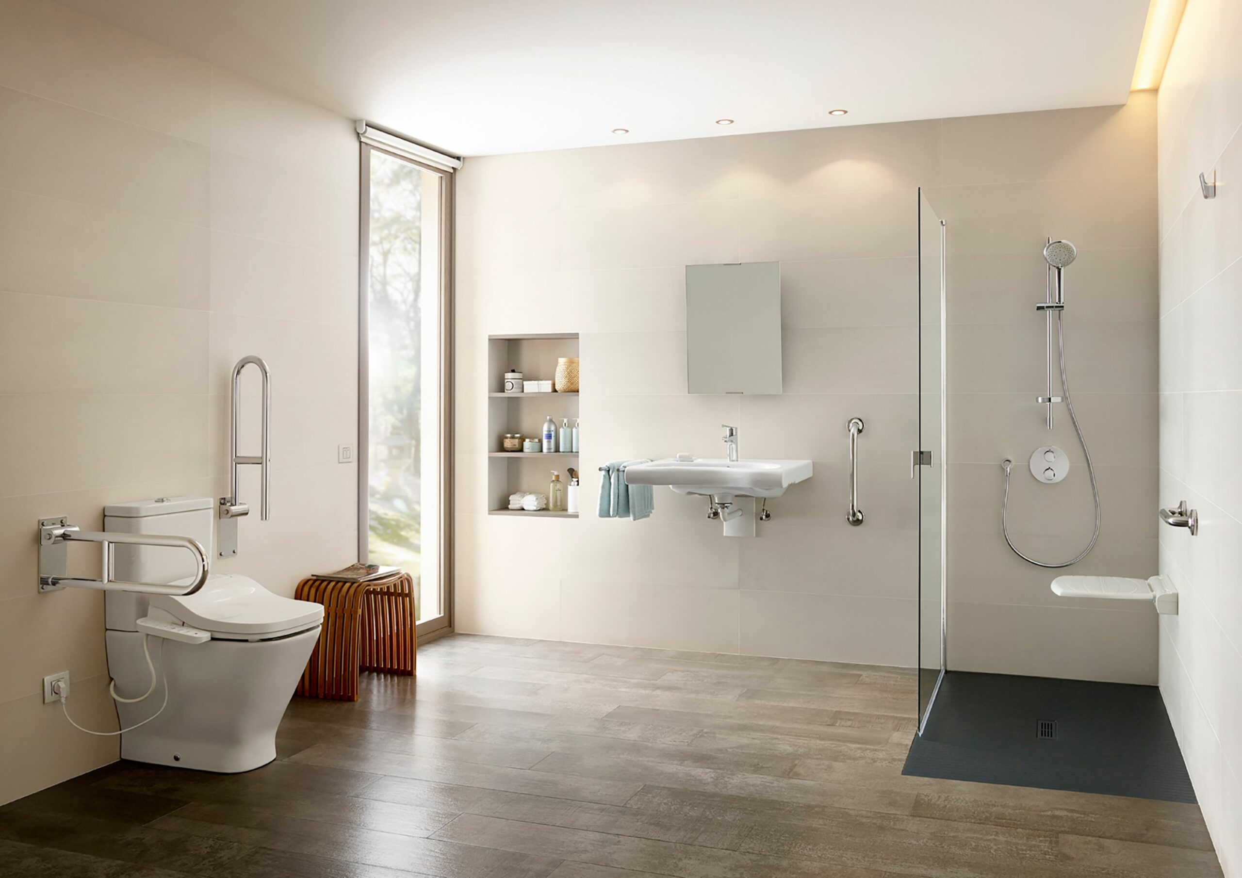 Do you need to renovate a bathroom for the elderly? │Roca Life