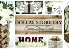 Dollar Store DIY'S ~ EARTH TONE Spring Home Decor Crafts (With ...