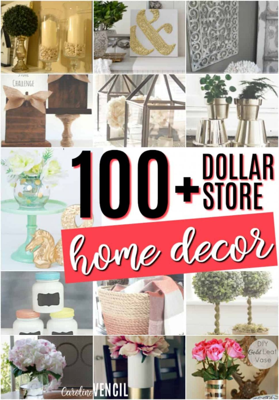 Dollar Store Home Decor Ideas - diy home decor dollar store