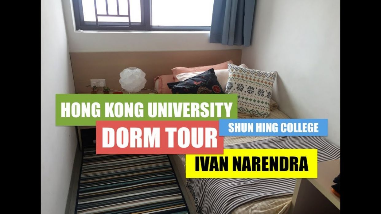 Dorm Tour in HKU (Shun Hing College)