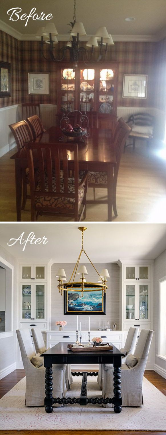 Easy And Budget-Friendly Dining Room Makeover Ideas - Hative - dining room makeover ideas