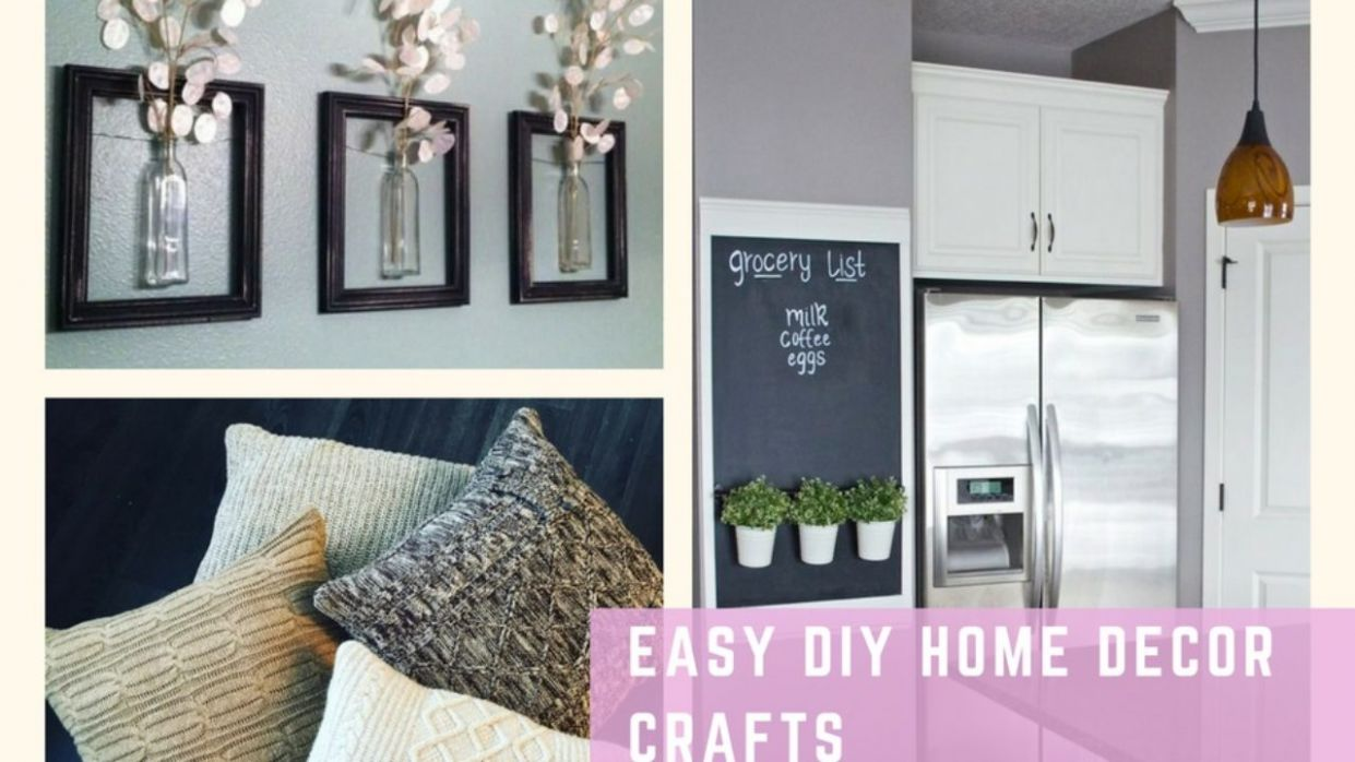 Easy DIY Home Decor Crafts Your Friends Will Actually Like ...