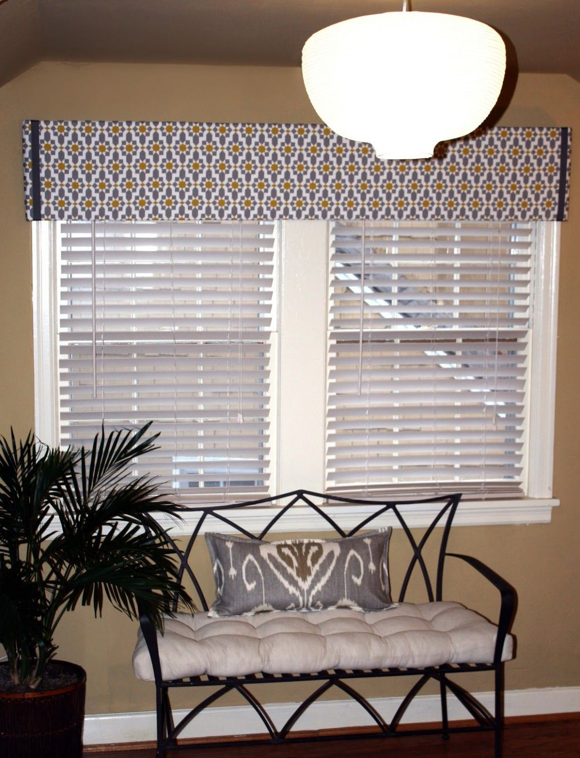 Easy DIY Pelmet Box | Diy window treatments, Diy window, Pelmet box - sunroom valance ideas