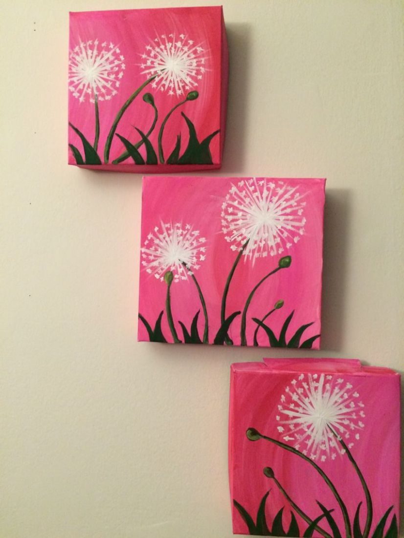 Easy DIY wall decor - Multi canvas painting (With images) | Multi ..