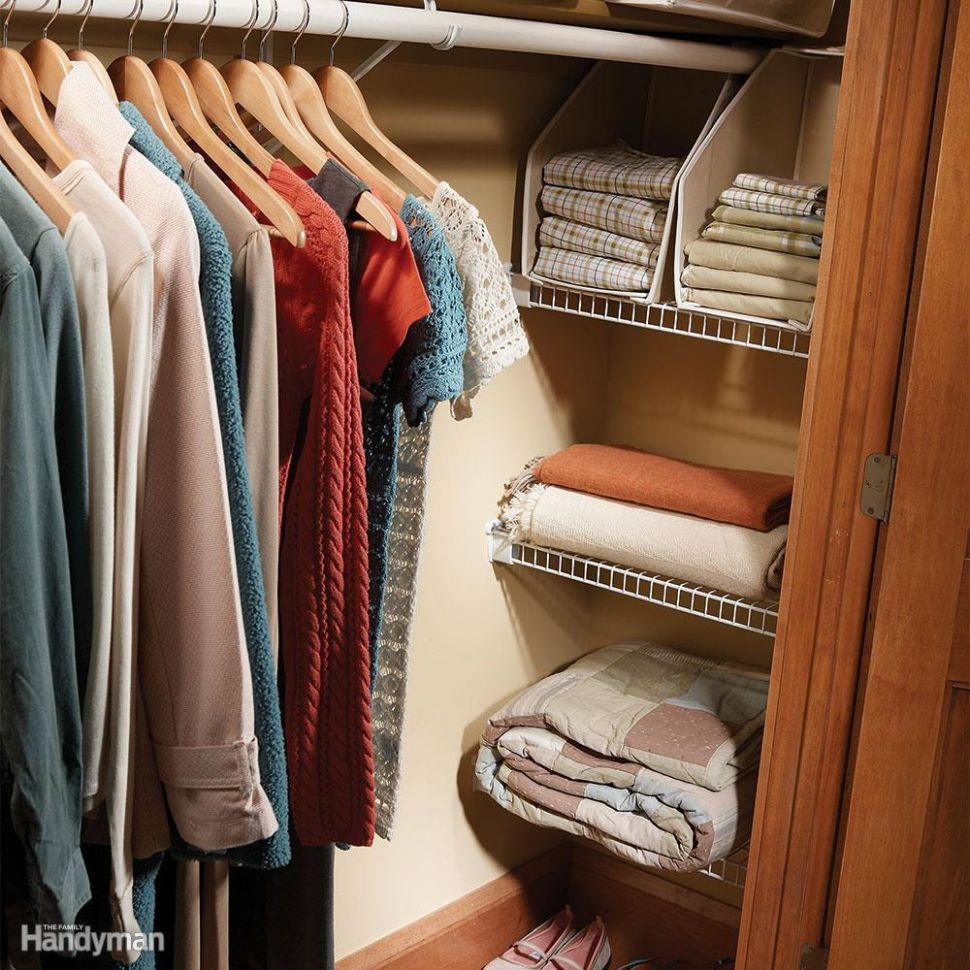 Easy Ways to Expand Your Closet Space: Space Saving Closet Ideas - closet ideas to save space