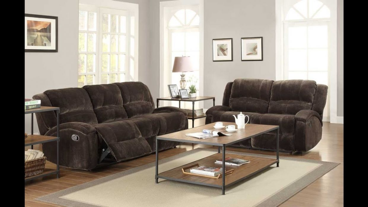 Elegant Comfortable Recliner Sofa Sets For Luxurious Living Room ..